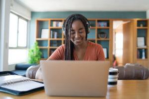 organização o ambiente virtual de estudo/trabalho.